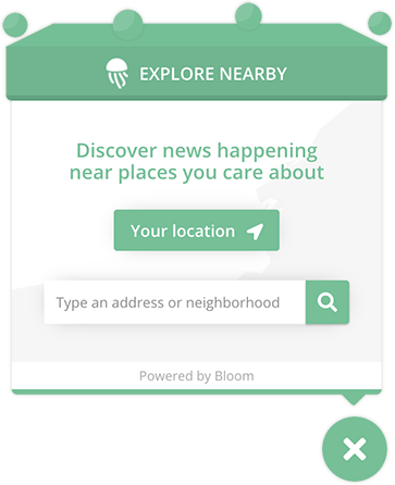 Preview of News Nearby Search